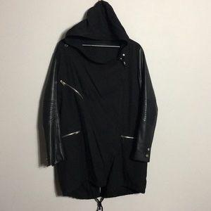Zara • Mixed Media Asymmetrical Jacket